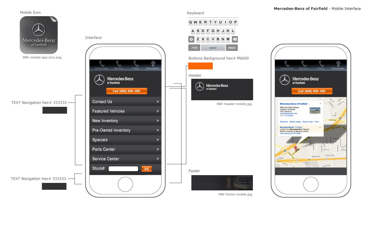 Mobile design garcan design atlanta georgia for Mercedes benz fairfield service